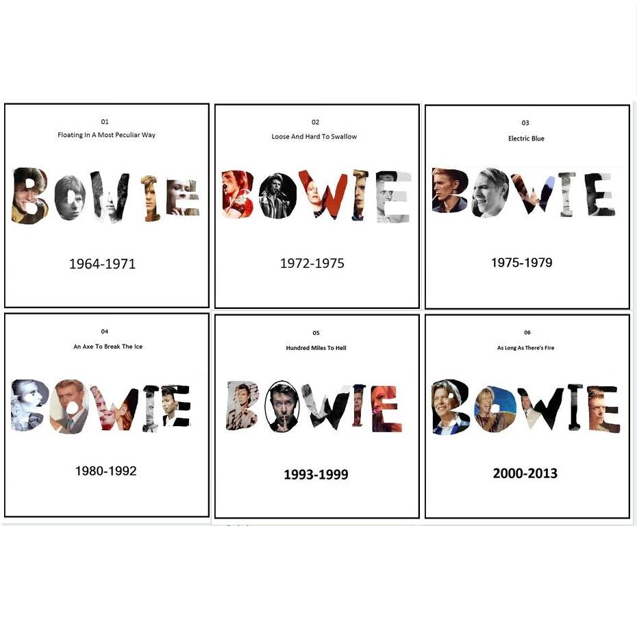 MIXTAPES: Ben P Scott's Best Of Bowie – Parts 1 to 6 – listen