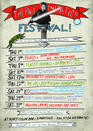 August Gigs announced in Edinburgh: The Pale Imitation Festival