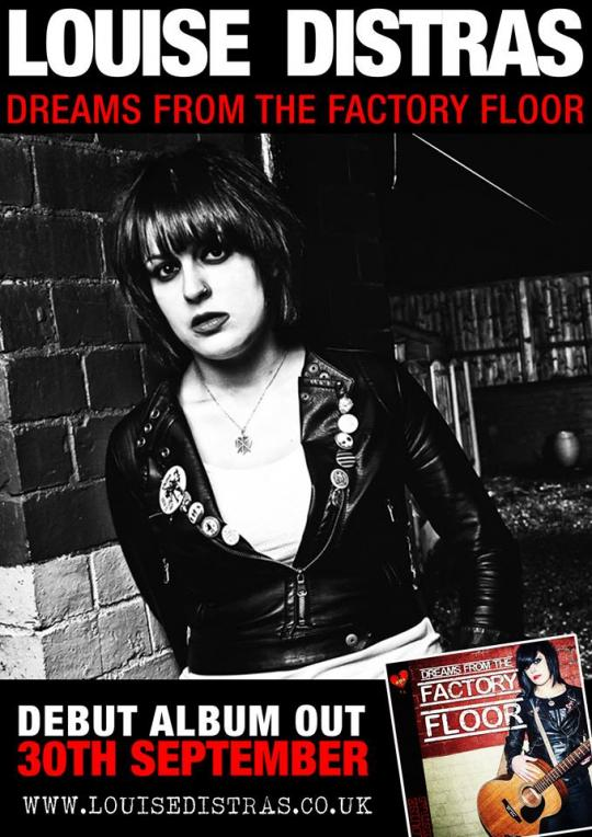 Louise Distras announces debut album 'Dreams From The Factory Floor'