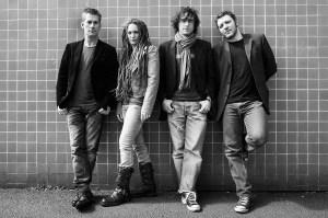 Rosetta Fire posed full band
