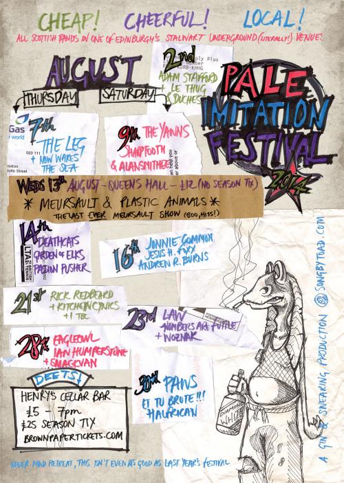 Preview: Pale Imitation Festival 2014