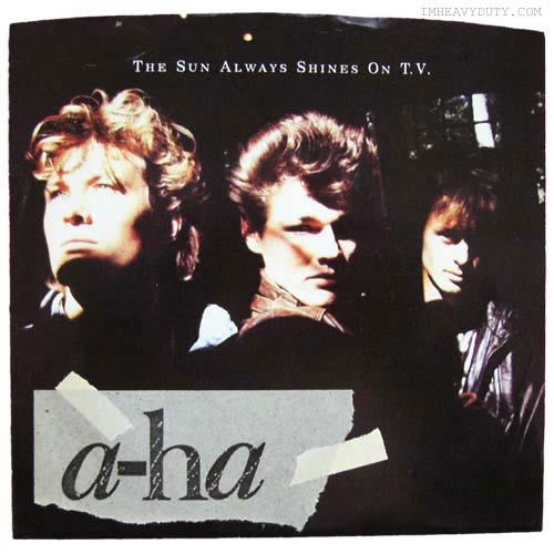 Inarguable pop classics #1:   A-ha: The Sun Always Shines on TV