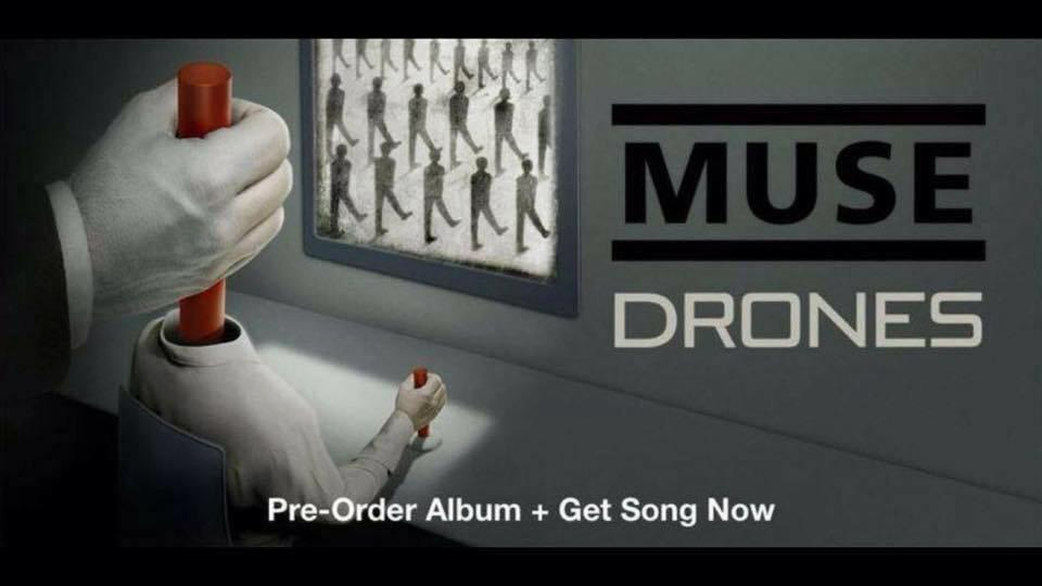 Muse's forthcoming album 'Drones' info & Dates revealed!