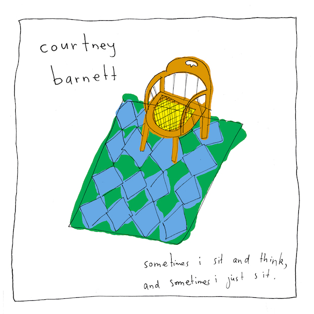 Courtney Barnett – Sometimes I Sit and Think, and Sometimes I Just Sit (Marathon Artists)