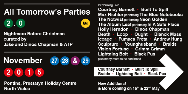 NEWS: five more acts unveiled for ATP 2.0 Nightmare Before Christmas