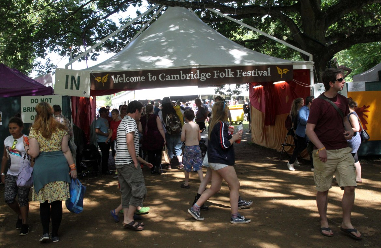Cambridge Folk Festival 2015