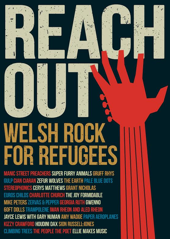 Reach Out- Welsh Rock musicians unite for 30-track album in aid of Refugee Crisis