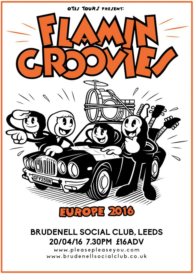 NEWS: Flamin' Groovies to play the Brudenell in Leeds