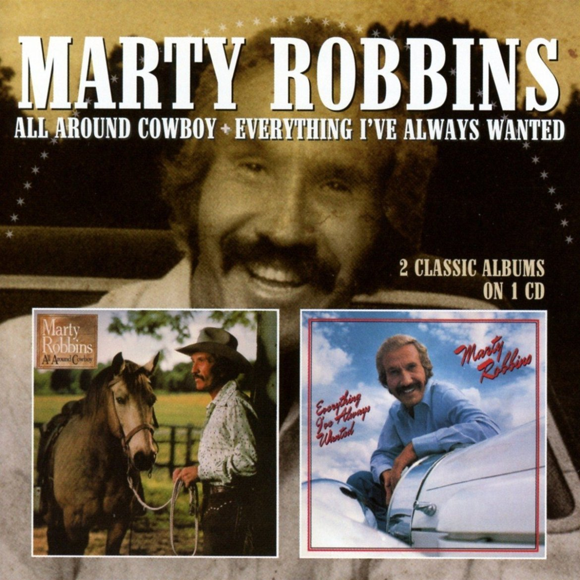 Marty Robbins – All Around Cowboy / Everything I've Always Wanted (Cherry Red Records)