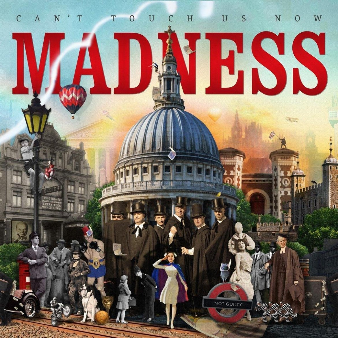 Madness – Can't Touch Us Now (Lucky 7 Records)