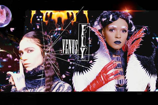 NEWS: Grimes shares new video 'Venus Fly' feat Janelle Monáe