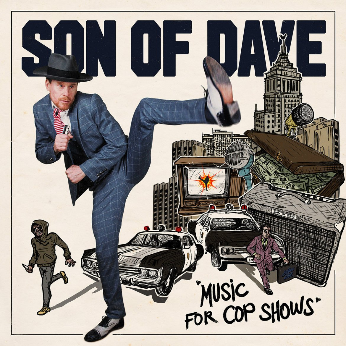 Son Of Dave – Music For Cop Shows (Goddamn Records)