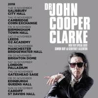 NEWS: John Cooper Clark announces 2018 Dates