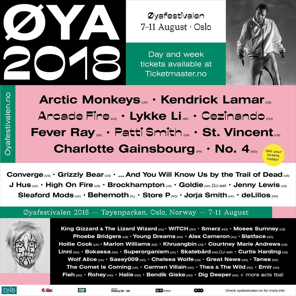 PREVIEW: Øya Festival, Oslo