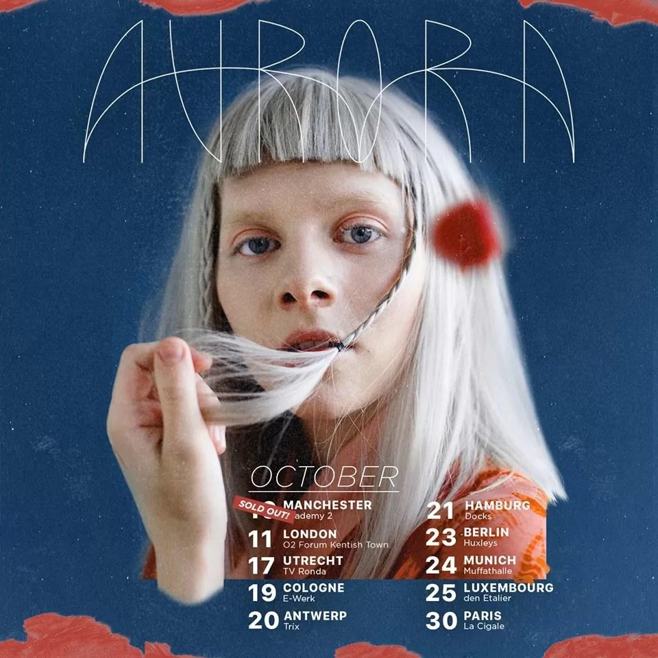Aurora – Manchester Academy 2, 10/10/2018