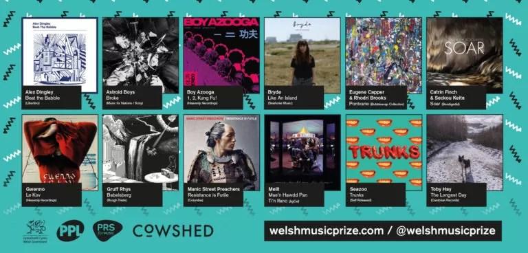 NEWS: Gwenno, Manics, Gruff Rhys, Boy Azooga and Bryde amongst Welsh Music Prize shortlist