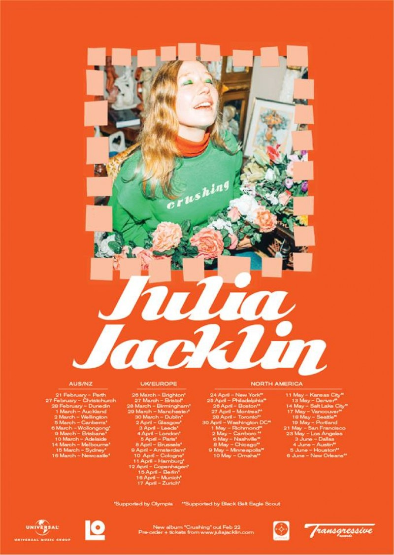 Julia Jacklin/Olympia – YES, Manchester, 29/03/2019