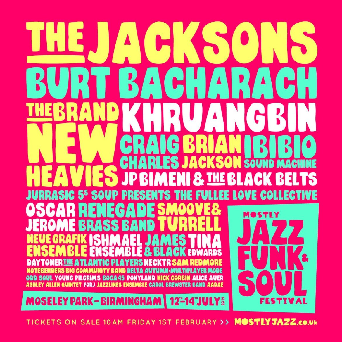 PREVIEW: Mostly Jazz, Funk & Soul Festival 2019