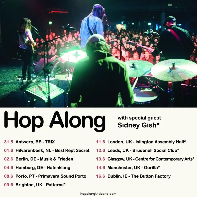 Hop Along – Islington Assembly Hall, London, 11/06/2019