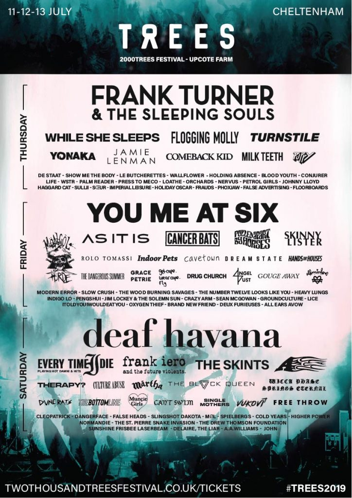 PREVIEW: Ten bands to see at 2000 Trees 2019