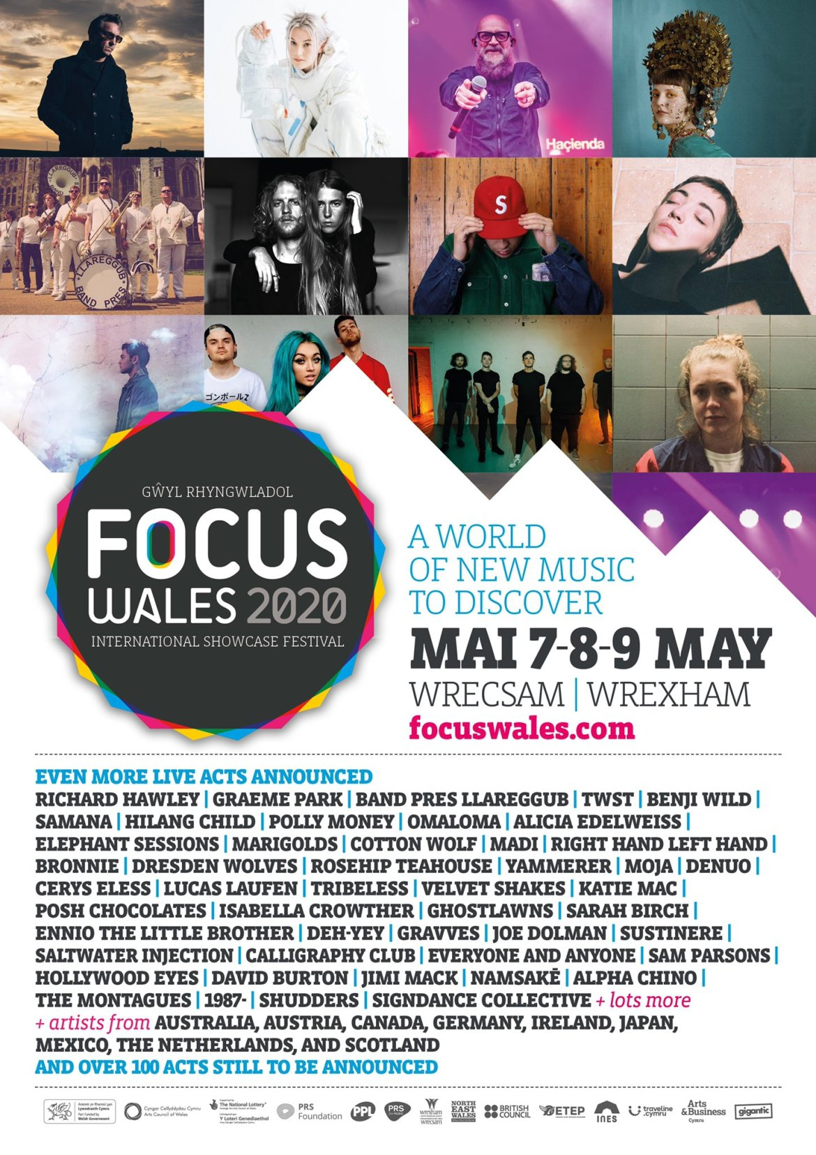NEWS: Richard Hawley, BRONNIE,  Rosehip Teahouse, DJ Graeme Park amongst new additions for Focus Wales 2020
