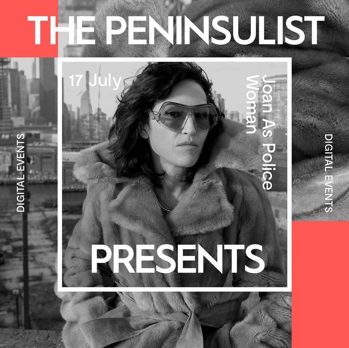 The Peninsulist Presents: Joan As Police Woman, 17/07/2020