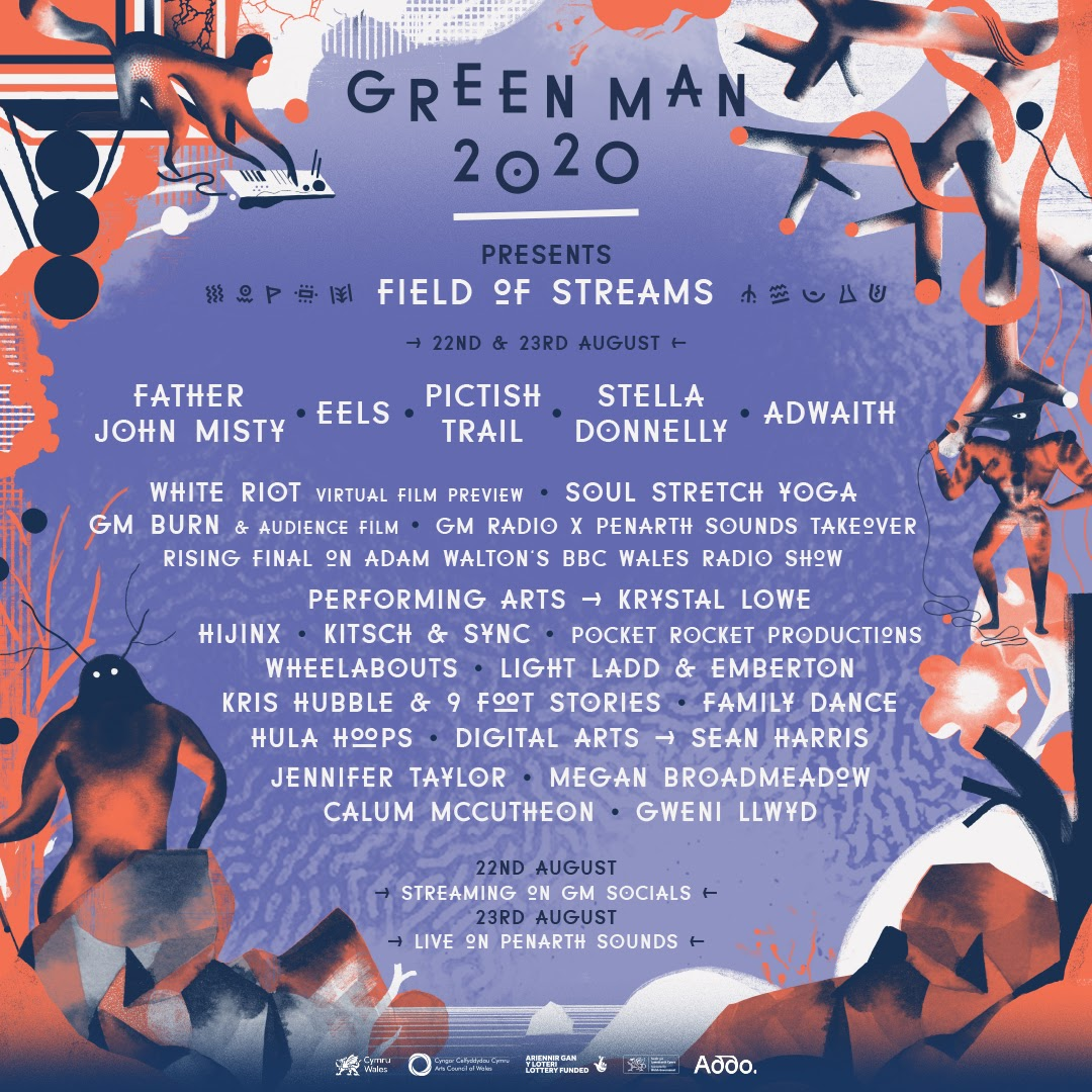 NEWS: Green Man Festival goes virtual for 2020