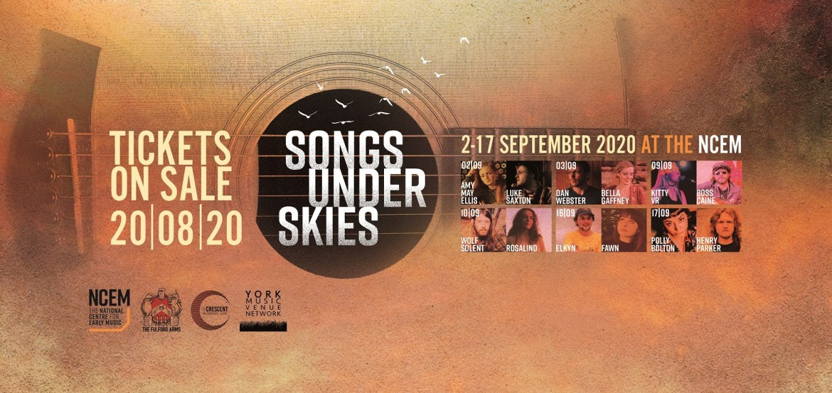 News: Songs Under Skies at the National Centre for Early Music in York