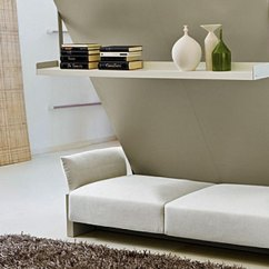 Murphy Bed In Small Living Room Flooring Ideas Uk Over Sofa 7 Genius Affordable Designs You Must See Wall Couch Combo With A Front