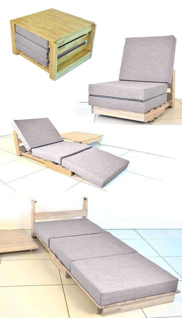 long chair couch sofa compact office tiny house furniture 23 brilliant ideas you can steal bed