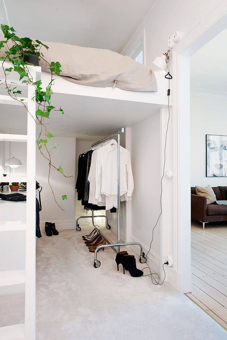 32 Really Clever Bed Solutions For Small Spaces Space Saving Godownsize Com
