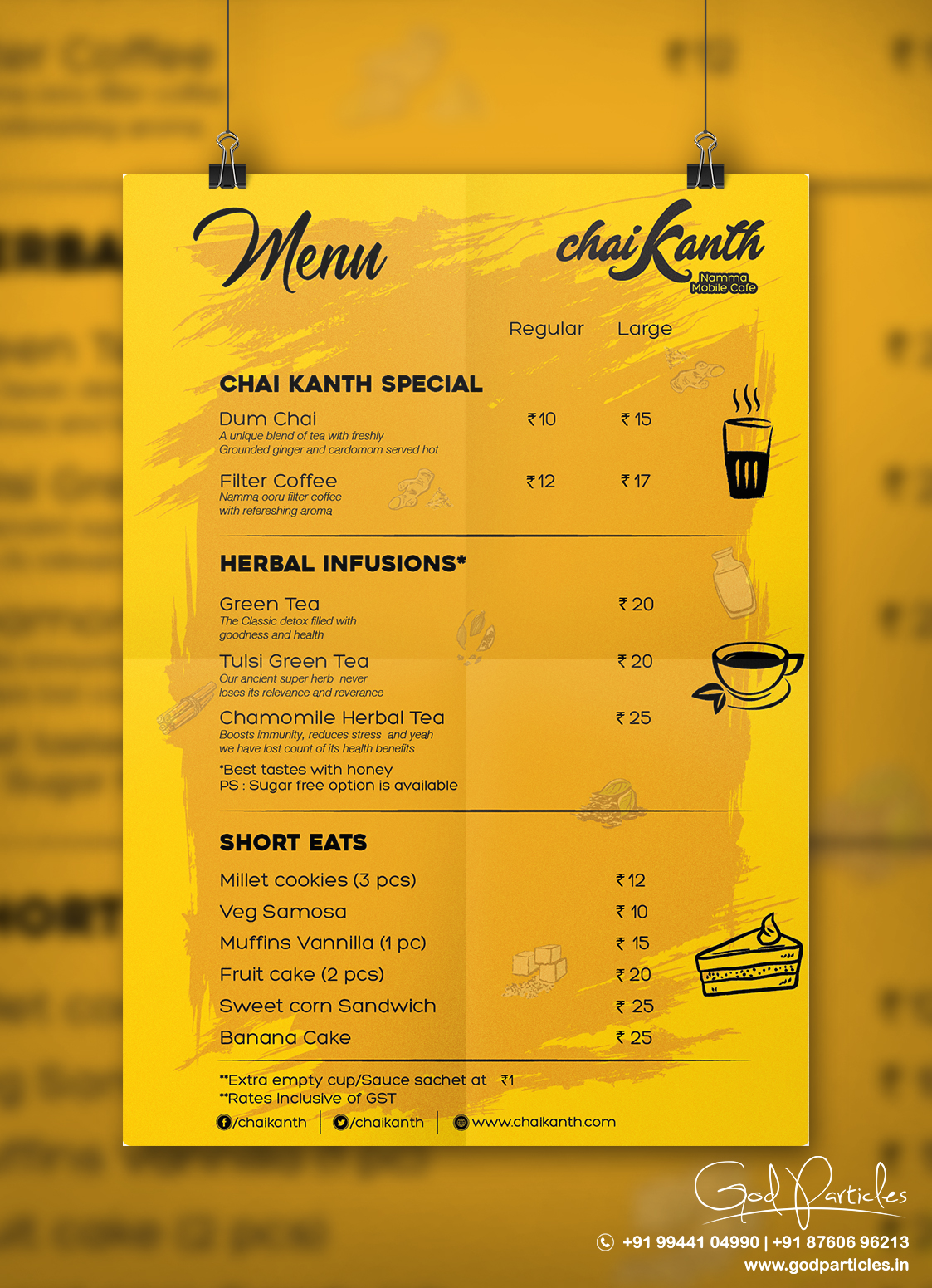 cafe menu card design agency chennai