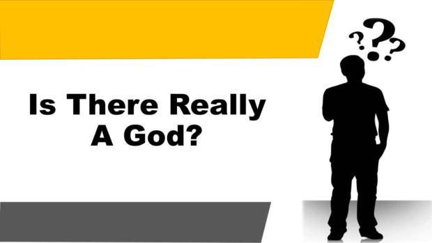 Is There Really A God Title Pic