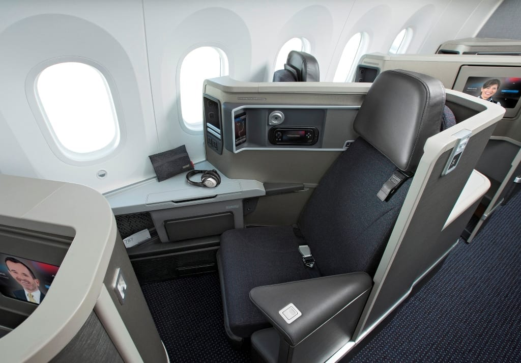 American Airlines Business Class Seat 787-8