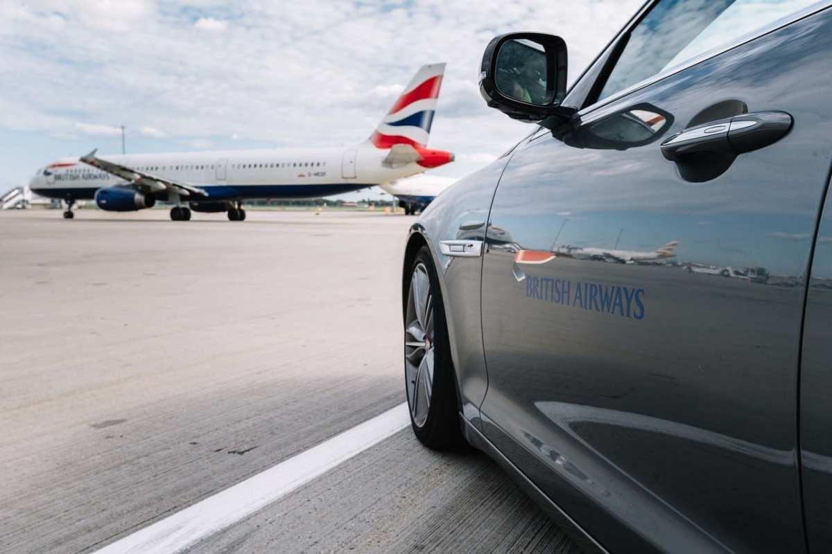 british airways chauffeur
