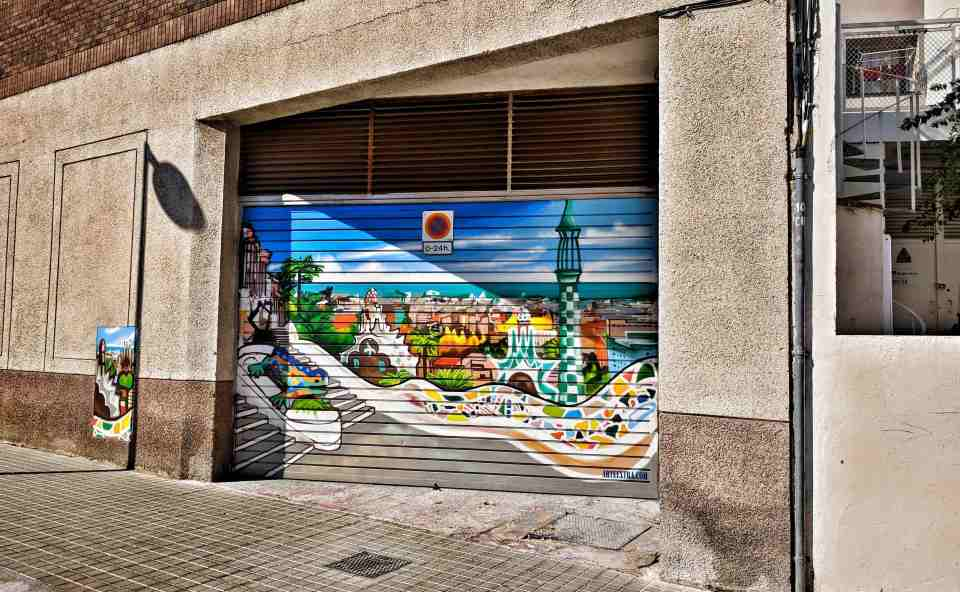 barcelona grafiti