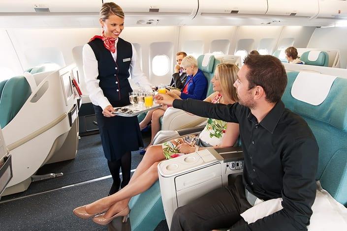 Czech Airlines Business Class