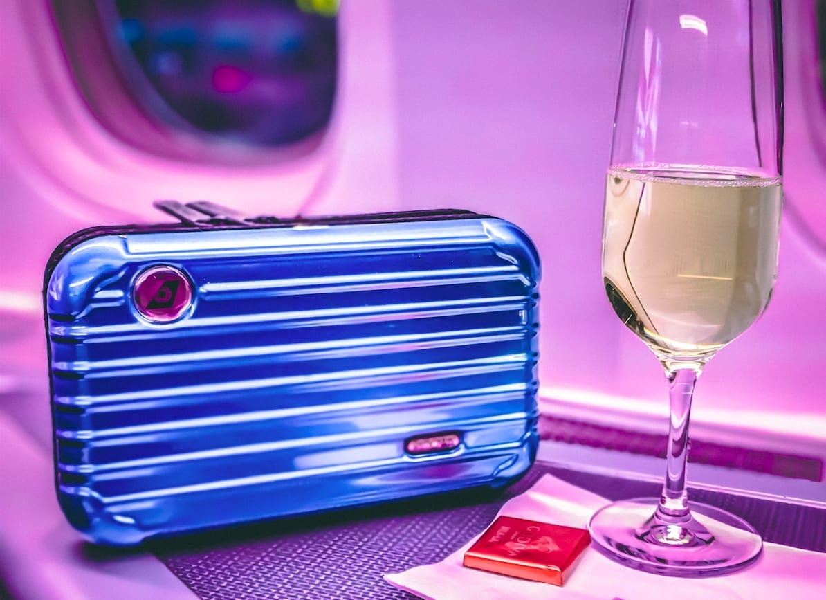 Eva Air Business Class Rimowa Amenity Kit