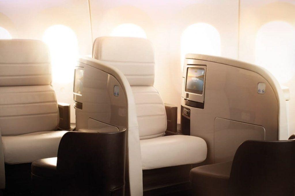 Air New Zealand Business Class 787-9