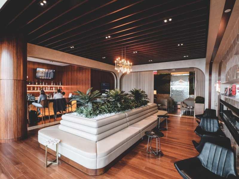 Turkish Airlines Lounge Washington Dulles