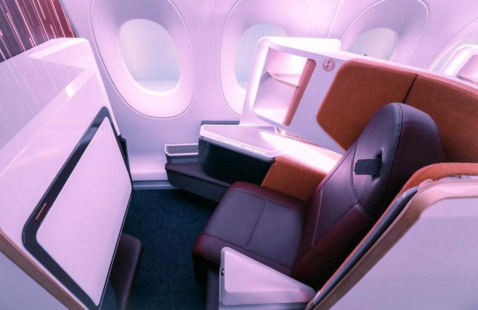 new virgin upper class seat airbus a350