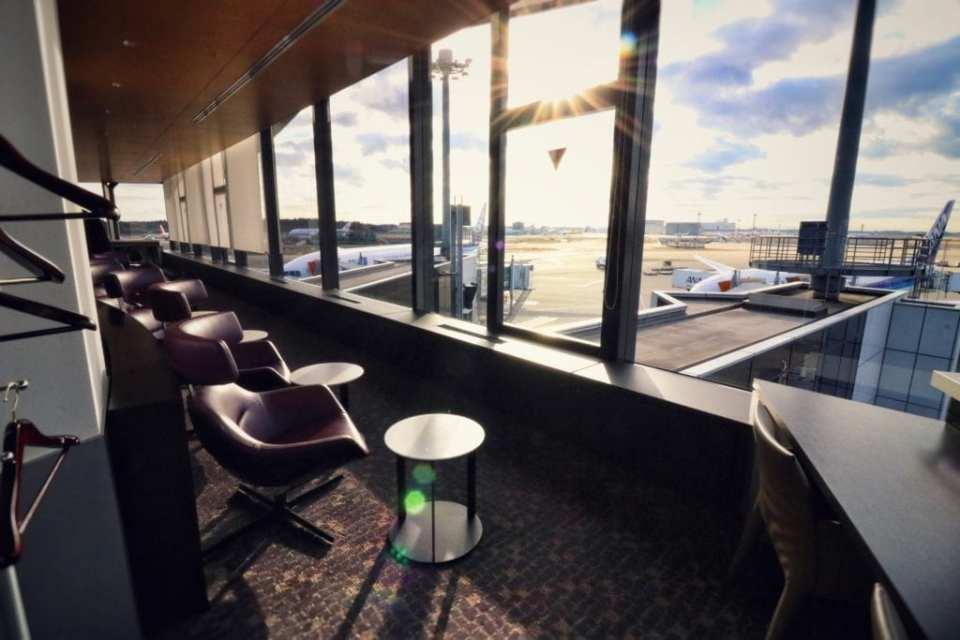 ANA First Class Lounge