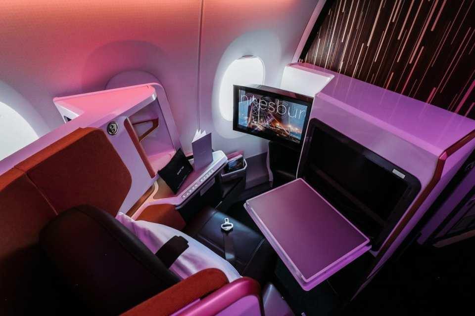 Virgin Atlantic New Upper Class