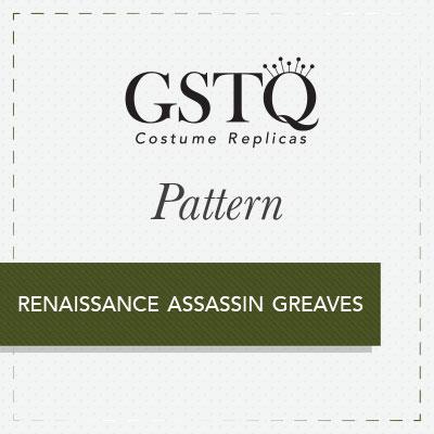 GSTQ Pattern: Renaissance Assassin Greaves