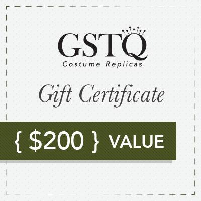 GSTQ $200 Gift Certificate