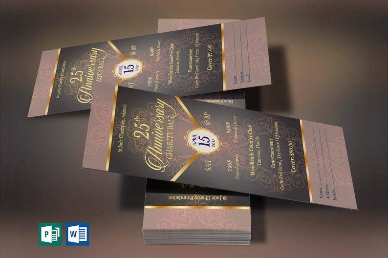 Gold Anniversary Banquet Ticket