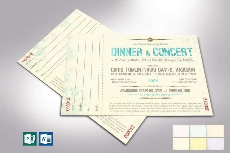 Vintage Dinner Concert
