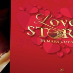 Valentine Love Story Program Word Publisher Template