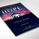Hope Christmas Program Word Publisher Template