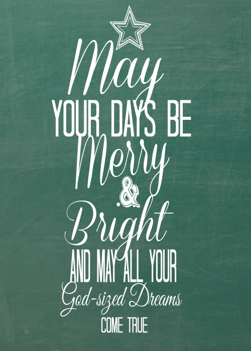 May your days be merry2-1
